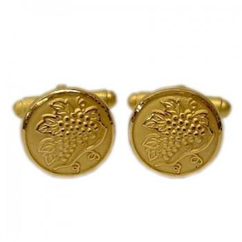 Wine Grapes Classic Cufflinks-Cufflinks-Sterling-and-Burke
