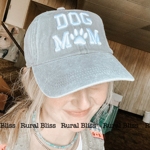 Leopard Dog Mom Cap