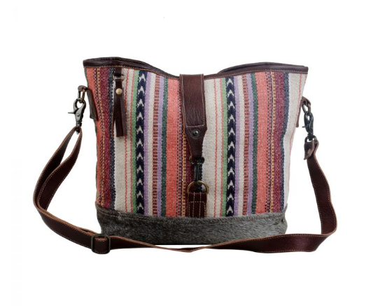 Multicolored Shoulder Bag
