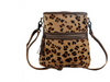 Our best selling leopard hair on backpack