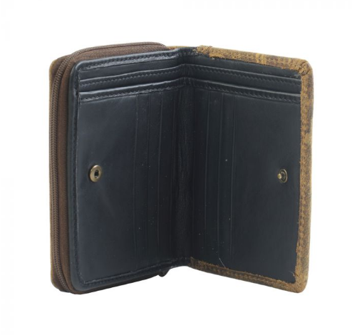 Smartness Overload Leather and Hairon Wallet