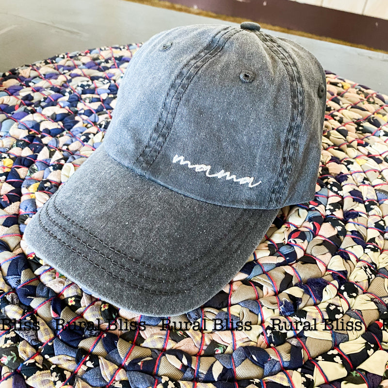 Mama Embroidered Cap