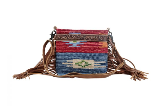 Sunset Hand Tooled Bag