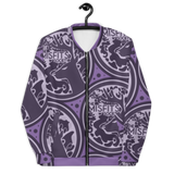 Purple Misfit DEER Unisex Bomber Jacket