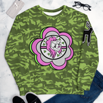 Kandy Camo Green Unisex Sweatshirt