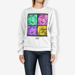 4 way Women's Crew Neck Sweatshirt