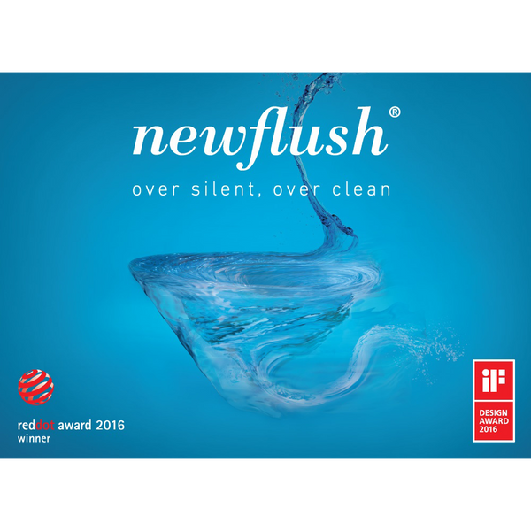 New Flush - revoluční WC od Catalano