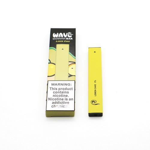 Wave Bar Disposable (5%) - Box of 10