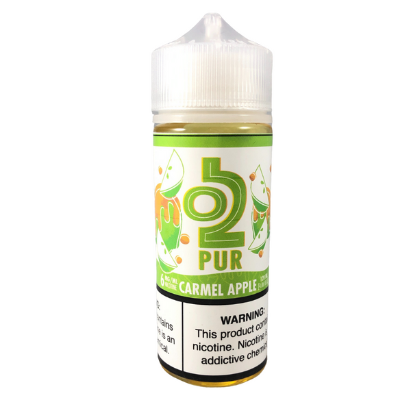 O2PUR Salt 60mL, Caramel Apple