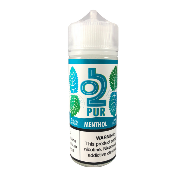 O2PUR Salt 60mL, Original Menthol