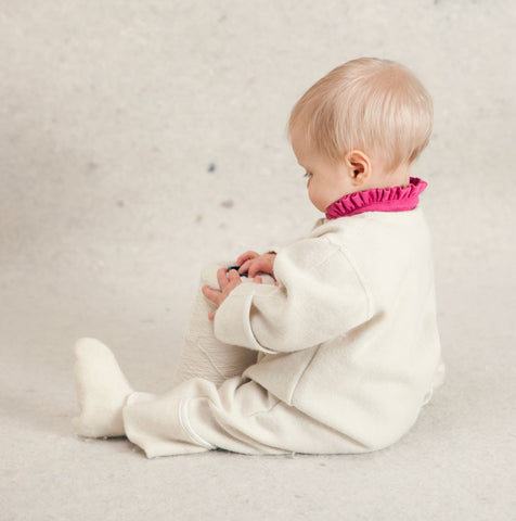 LANACare Baby Suit (Overall) in Organic Merino Wool without Hood