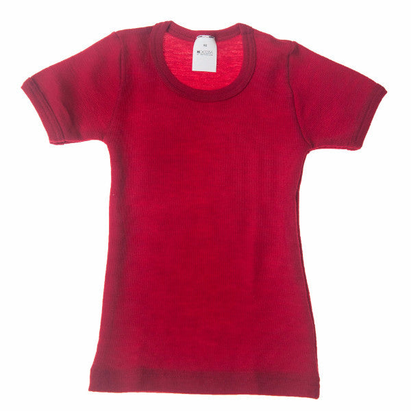 Hocosa Kids' Organic Wool Undershirt with Short Sleeves  $34.90-$42.90
