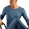 Hocosa Organic Wool/Silk Unisex Long-Underwear Shirt with Long Sleeves, in Colors