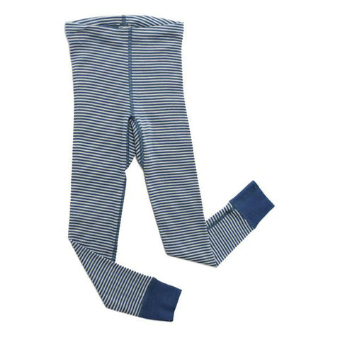 HOCOSA Children's Long Underwear Pants in Organic Merino Wool/Silk Blend