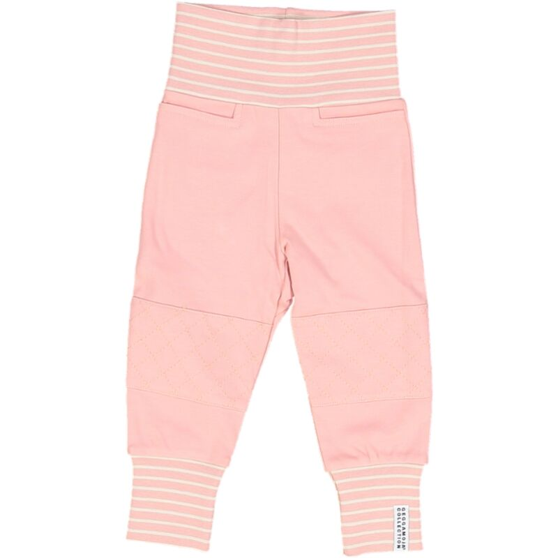 x FACTORY OUTLET Geggamoja® Organic Cotton Baby/Toddler Pants in Pink, Green & Blue