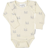 Geggamoja® Bamboo/Cotton Body/Snap-Bottom Shirt - PANDA