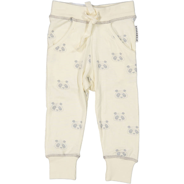 z FACTORY OUTLET Geggamoja® Bamboo/Cotton Baby Pants - PANDA