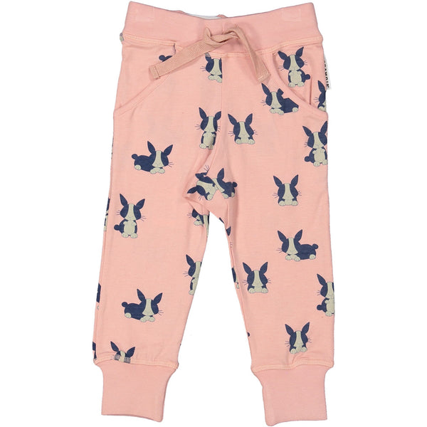 z FACTORY OUTLET Geggamoja® Bamboo/Cotton Baby Pants - BUNNY RABBIT