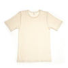 "x FACTORY OUTLET Hocosa Short-Sleeve ""Sport"" Undershirt in Organic Wool/Silk  - Unisex"