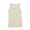 LIMITED QUANTITY Men's Organic Wool Tank Top Undershirt, Natural White, size XL