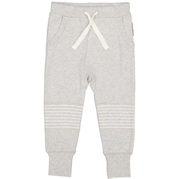 Geggamoja® Organic Cotton Baby/Kids Comfy Pants - Classic Solid Grey 3 mo - 6 yrs, $29.99-$31.99
