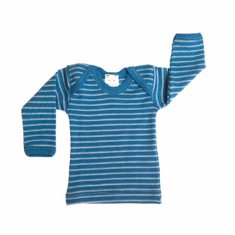 Hocosa Baby Shirt, Long Sleeves, Organic Wool
