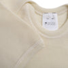 Hocosa Snap-Bottom Shirt with Short Sleeves in Organic Wool/Silk Blend