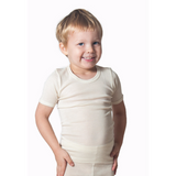 HOCOSA Kids' Organic Wool/Silk Undershirt with Short Sleeves  $39.90 - $44.90