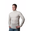 x FACTORY OUTLET Hocosa Turtle-Neck Undershirt in Organic Wool/Silk Blend - Unisex