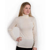 Hocosa Men or Women's Organic Wool/Silk Undershirt with Turtle-Neck