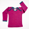 x FACTORY OUTLET  Wool/Silk Baby Shirt & Pants Set, 0-3 mo.