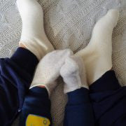 LANACare Footlets in Soft Organic Merino Wool