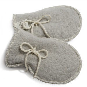 x FACTORY OUTLET LANACare Baby Mittens in Organic Merino Wool