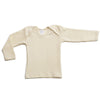 Hocosa Baby Shirt, Long Sleeves, Organic Wool-Silk