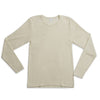 Hocosa Long-Sleeve Undershirt in Organic Wool/Silk Blend - Unisex