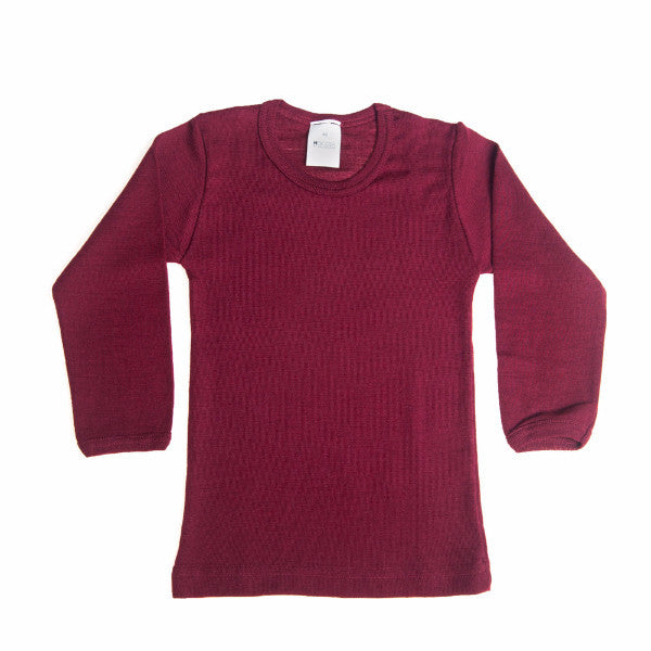 HOCOSA Kid's Organic Wool/Silk Underwearshirt with Long Sleeves  $47.90 - $54.90