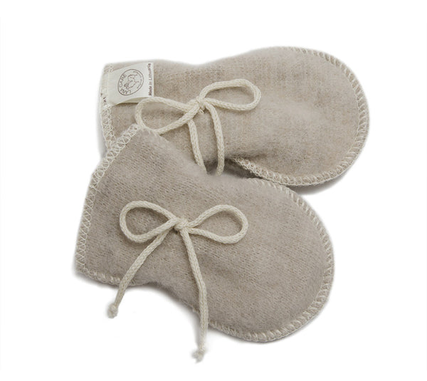 z FACTORY OUTLET LANACare Baby Mittens in Organic Merino Wool