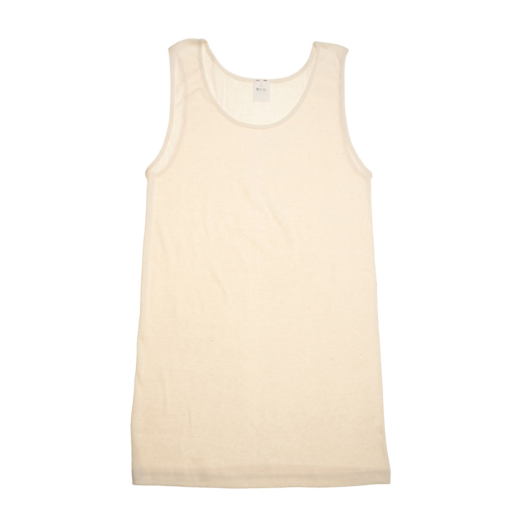 z FACTORY OUTLET Hocosa Women's Organic Cotton/Hemp Sleeveless Undershirt