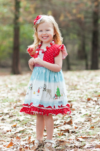 1fcc2e2c3 Sale Jingle Elves with matching dress for