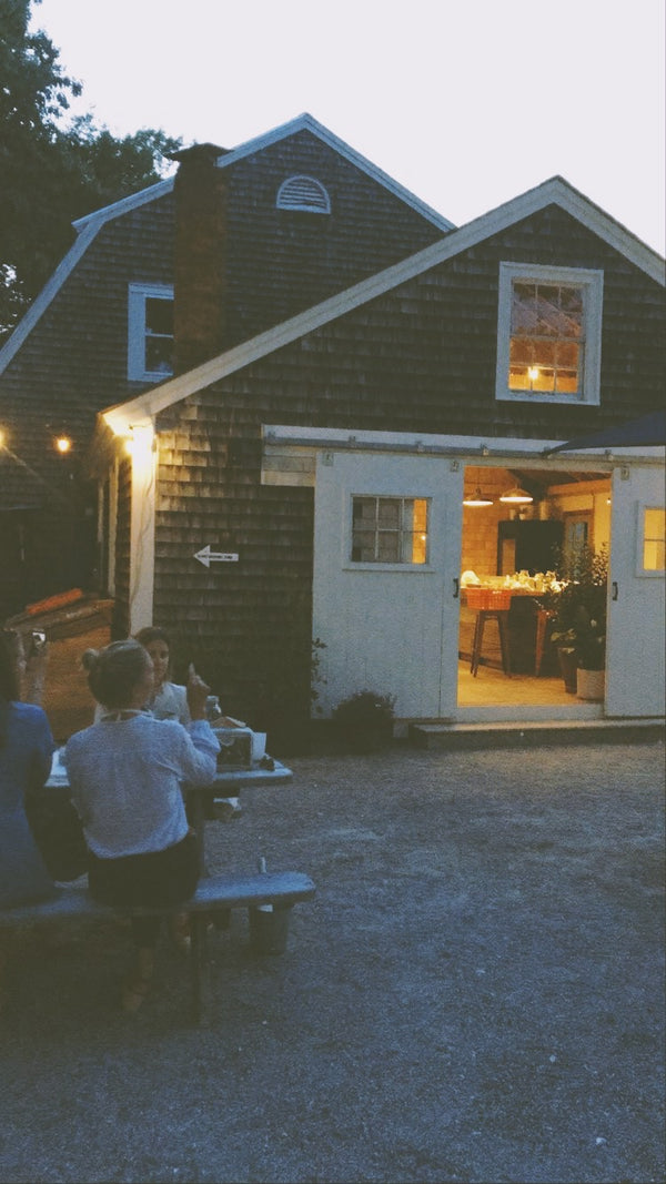 Cooking with Fire: A Dinner at Glidden Point Oyster Farms with Ben Jackson