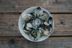 Raft Purged Littleneck Clams