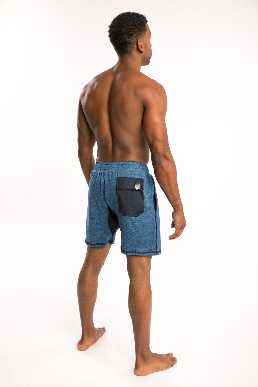 COBALT/NAVY Shorts-SHORTS-Pi Movement-Pi Movement