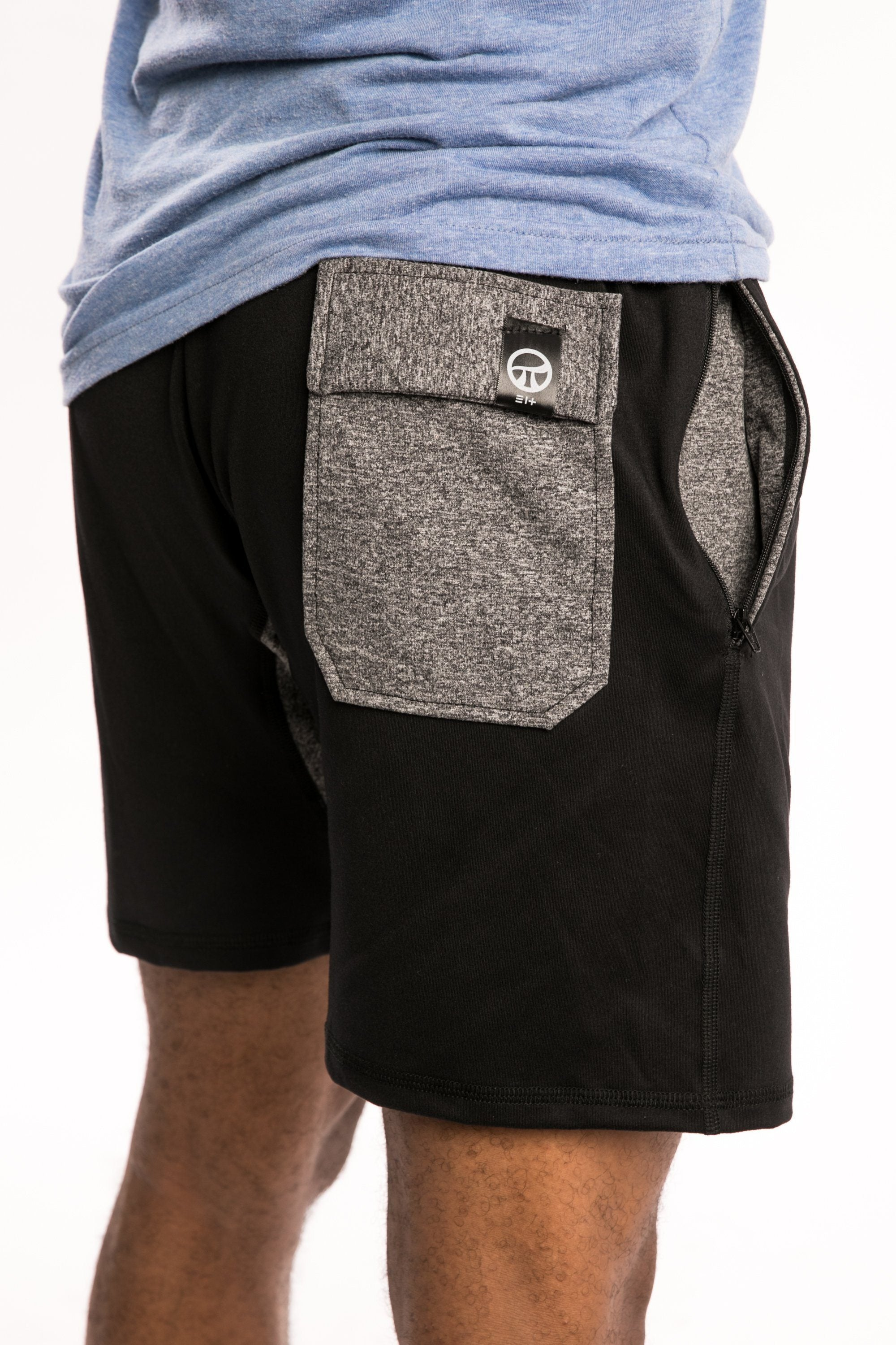 BLACK/GRAY Short-SHORTS-Pi Movement-Pi Movement