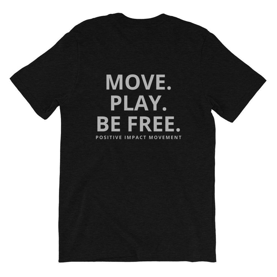 Pi Movement Move. Play. Be Free. Tee