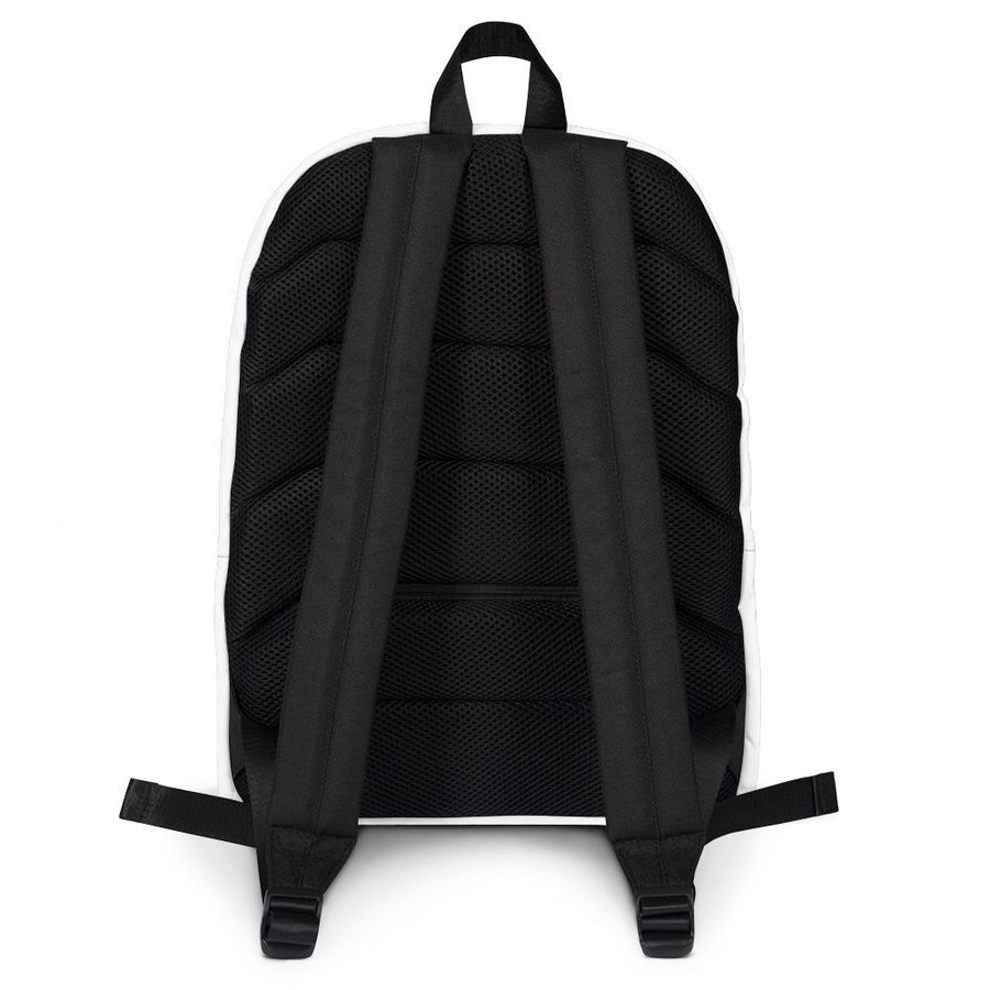 All White Pi Movement NINJA Backpack
