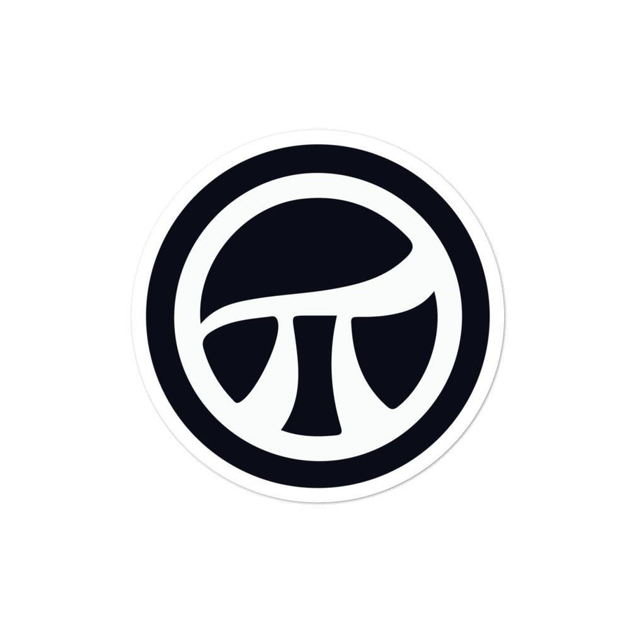 Pi Logo Bubble-free stickers