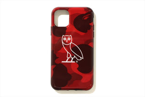 【 BAPE X OVO 】COLOR CAMO I PHONE 11 PRO CASE