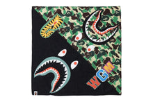 Load image into Gallery viewer, ABC CAMO SHARK BANDANA