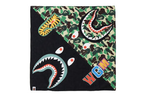 ABC CAMO SHARK BANDANA