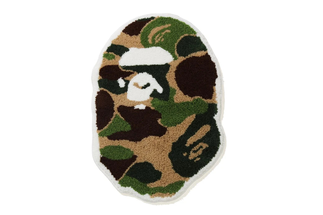 ABC CAMO APE HEAD RUG MAT